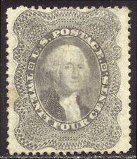 U.S. #37 Unused - 24c Lilac ($500)