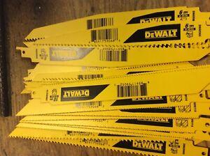 """Dewalt saw zall blades, 9"""", 80 in pack. Vary blades"""