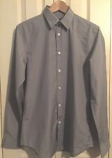 BNWT Gap Mens 100% Cotton Grey Shirt Size S RRP£25