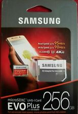 SAMSUNG EVO Plus 256GB Micro SD Memory Card