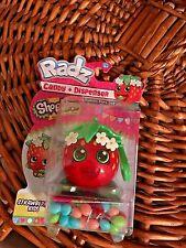 Radz Shopkins Strawberry Kiss Candy & Dispenser