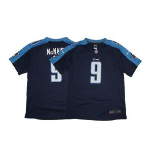 Steve McNair Nike Tennessee Titans Nike Game Day Alternate Navy Youth Jersey