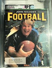 SEALED VGA 80+ JOHN MADDEN FOOTBALL ROOKIE GAME NOT WATA (IBM PC, COMPAQ, TANDY)