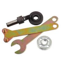 5x Zweilochschlüssel Schlüssel 10mm Schaft Winkelschleifer Adapter Scheibe Drill