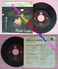 LP 45 7''MARIO LANZA Cilea Lamento di federico Meyerbeer O paradiso no cd mc dvd