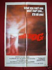 THE FOG * 1980 ORIGINAL MOVIE POSTER 1SH JOHN CARPENTER'S HALLOWEEN THE THING