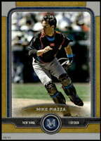 Mike Piazza 2019 Topps Museum 5x7 Gold #56 /10 Mets