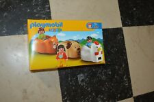 BOITE  PLAYMOBIL   1.2.3 PERSONNAGE TRAIN ANIMAUX COMPLET 6767 VINTAGE 2009