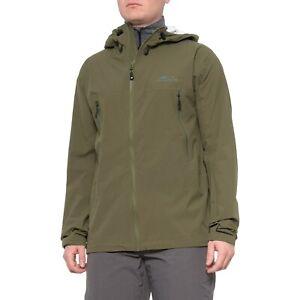 NWT GRUNDENS Stormlight Hooded Waterproof Olive Fishing Jacket Size M