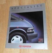 Toyota Brochure 1990 - Corolla 4WD Estate Previa Landcruiser