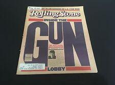 Inside the Gun ROLLING STONE MAGAZINE #343 NRA John Lennon May 14 1981 VERY RARE
