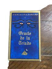 Oracle De La Triade 1st Edition B. Paul Grimaud 1992 France