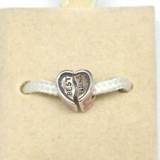NEW AUTHENTIC CHAMILIA BEST FRIEND STERLING SILVER .925 BEAD CHARM #2050-0340