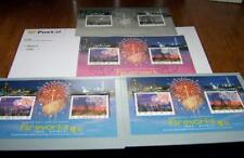 SWAROVSKI Hong Kong feu d'artifice timbres: Comme neuf Set/poste Set/FIRST DAY COVER/Proof