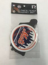 T3) NEW YORK METS 2 PIECE TEAM MAGNET SET MLB