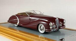 Ilario il114 1/43 Delahaye 135 MS Roadster Saoutchik Paris Show 1949 sn801424