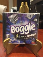BOGGLE 5:  Explosive Word Search Games HASBRO PC Game (CD-ROM,1997)