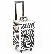 Cosmetic makeup nail hairdressing beauty vanity hair trolley case box storage FZ