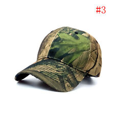 Men Camouflage Military Adjustable Baseball Caps Camo Hunting Fishing Army ~