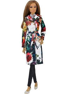 ELENPRIV Floral printed trenchcoat w/full lining for Fashion Fashion FR:16