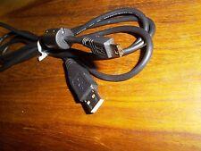 Panasonic Original Negro Usb Cable De Plomo vfa0397 vfa0425 vfa0453 Dv Gs videocámara