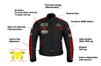 Cordura Motorcycle Jacket CE Armour Motorbike Riding Jackets Waterproof Thermal