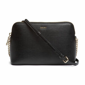 Dkny Bryant Dome Womens Bag Hand - Black Gold One Size
