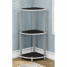 "ACCENT TABLE - 30""H / WHITE OR BLACK REVERSIBLE (Monarch)"