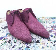 Purple Pimp Shoes Faux Fur Men's Size 8
