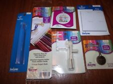 Janlynn CS Accessories BUNDLE Cutter, Magnifier, Winder, Bobbins Cards & Orn Kit