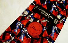 CRAVATTA (TIE)  vintage CHRISTIAN DIOR Paris made in France  New!  rare