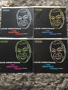Louis Armstrong. His Greatest Years. Volume 1-4