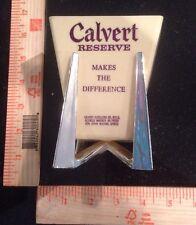 CALVERT Reserve Bar Display