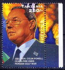Tanzania MNH, Colin Powell, Cease Fire ends Gulf War, Commander of the U.S. Ar