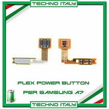 FLAT FLEX CAVO TASTO ACCENSIONE POWER BUTTON ON/OFF PER SAMSUNG GALAXY A7 A700F