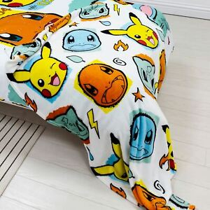 Pokemon Rocks Fleece Blanket Soft Snuggling Sofa Throw Kids