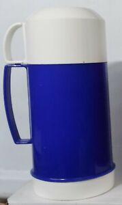 Vintage THERMOS 20 OZ Food Jar 2 Cups BLUE UNUSED