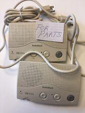 Radio Shack FM Wireless Intercom FOR PARTS