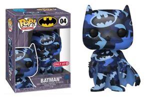 Funko Pop Heroes DC Batman Dark Blue w/ Case Artist Series Exclusive 04 NEW