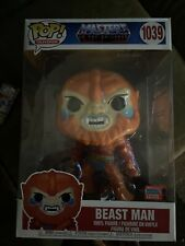 """Masters of the Universe - Beast Man 10"""" Nycc 2020 Us Exclusive #1039 Pop! Vinyl"""