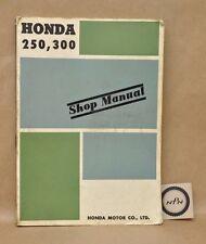 Vintage Honda 250 300 CA72 CA77 CB72 CB77 CS72 CS77 Shop Repair Service Manual