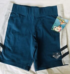 Vintage Roxy High Rise Running Shorts  size LARGE  NWT
