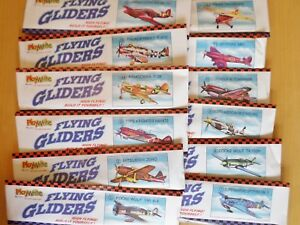 FLYING PLANES POWER PROP GLIDER PLANE PARTY BAG POCKET MONEY GIFT NOVELTY TOY