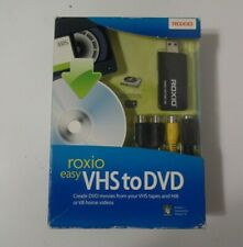 ROXIO Easy VHS to DVD for Windows Vista/XP 242500WM Sealed