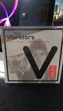 THE VIBRATORS - PAST PRESENT and Into The Future LP Red Vinyl Punk Rock