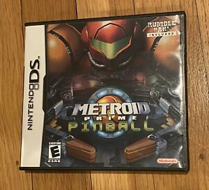 Metroid Prime Pinball for Nintendo DS, 100% COMPLETE with Rumble Pak and Manuals