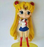 USA SELLER Anime Figure Sailor Moon Q Posket Banpresto Action Figure Usagi USED