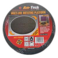 MULTI - USE ROTATING PLATFORM - BASE SWIVEL STAND TV SPEAKERSTURN TABLE CAKE NEW