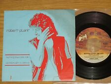 """7"""" Robert Plant - Burning Down One Side"""