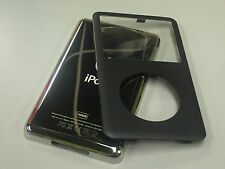 New iPod 6th 6.5 7th Gen Classic Black Front Faceplate 160GB Back Cover Housing